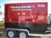 2009 Baldor TS130T 130KVA Trailer Mounted Generator – New!