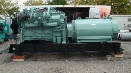 900KW Detroit Diesel Generator