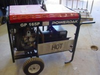 GP16.5P Powerdak Duel Fuel Portable