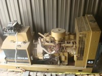 Used 45 KW Kohler Generator w/ Transfer Switch