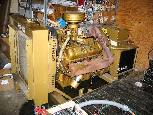 85KW Kohler Natural Gas