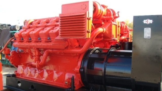Waukesha L-5790 GSIU, 750 KW