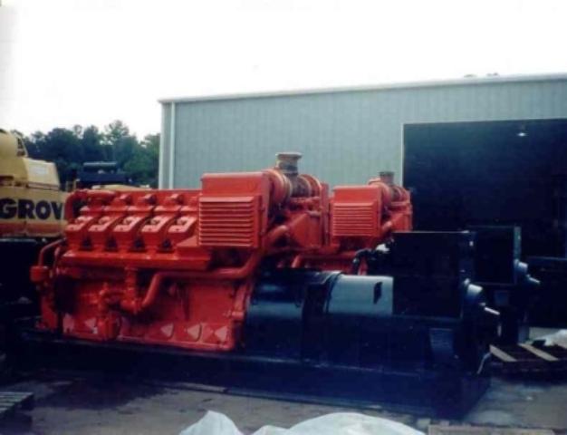 Waukesha 7042 GSI, 1000 KW, Rebuilt
