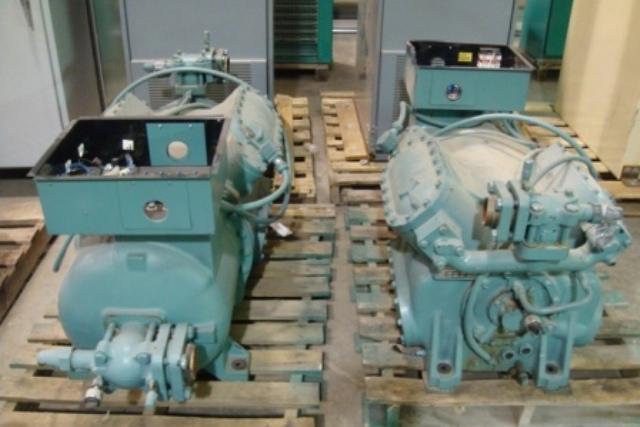 York PA441-N17S Air Compressor, Electric