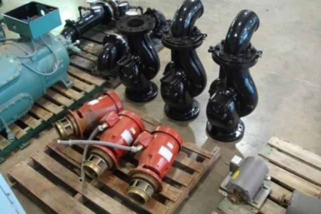 Pump, Bell/Gossett 6X6X7, with Motor