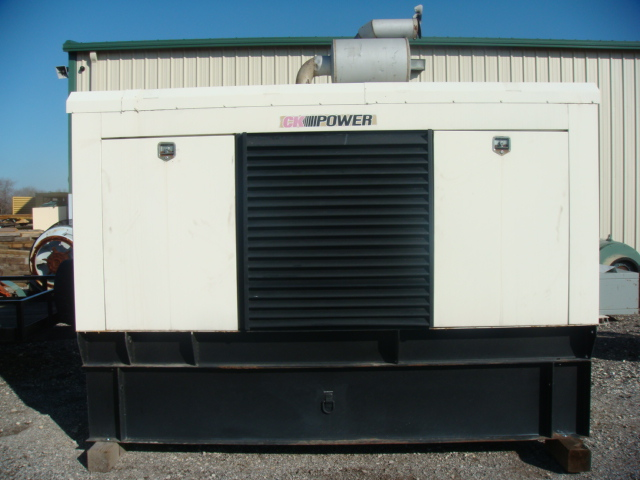 John Deere 250 Kw Enclosed
