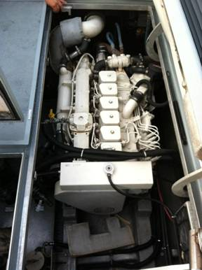 Cummins Marine Engine 6BTA   370HP