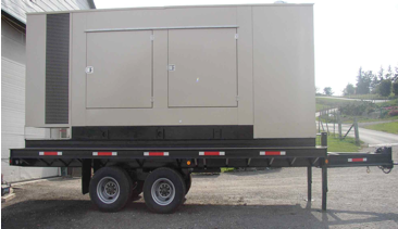 Trailer Mounted and Towable Industrial Gensets - Used and