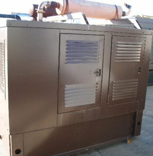 Low Hour Cummins 60kW Generator Set
