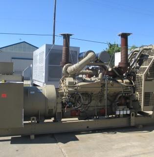 Low Hour Cummins 1200kW Generator Set