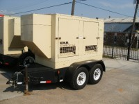 Like New John Deere 55kW Generator Set