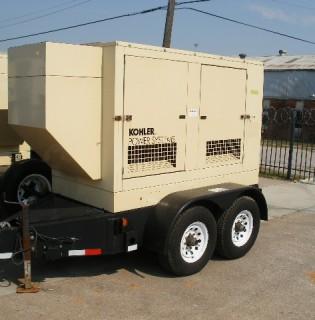 Like New John Deere 55kW Generator Set