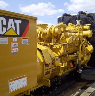 New Surplus Caterpillar 400kW Generator Set