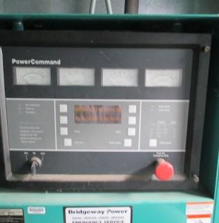 Low Hour Cummins 200kW Generator Set