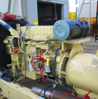 Low Hour Volvo Penta 360kW Generator Set