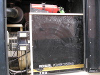 Low Hour John Deere 200kW Generator Set