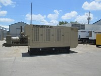 Low Hour Mitsubishi 375kW Generator Set