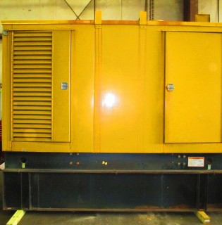 Low Hour Cummins 350kW Generator Set