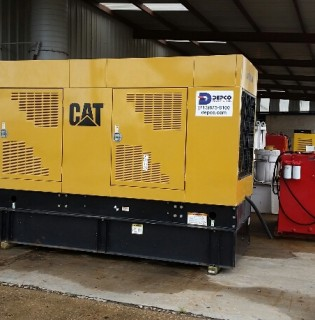 Low Hour Caterpillar 300kW Generator Set