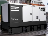 New Atlas Copco 56kW Generator Set
